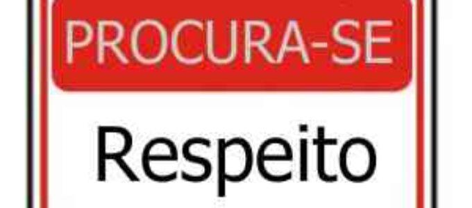 Falta de respeito